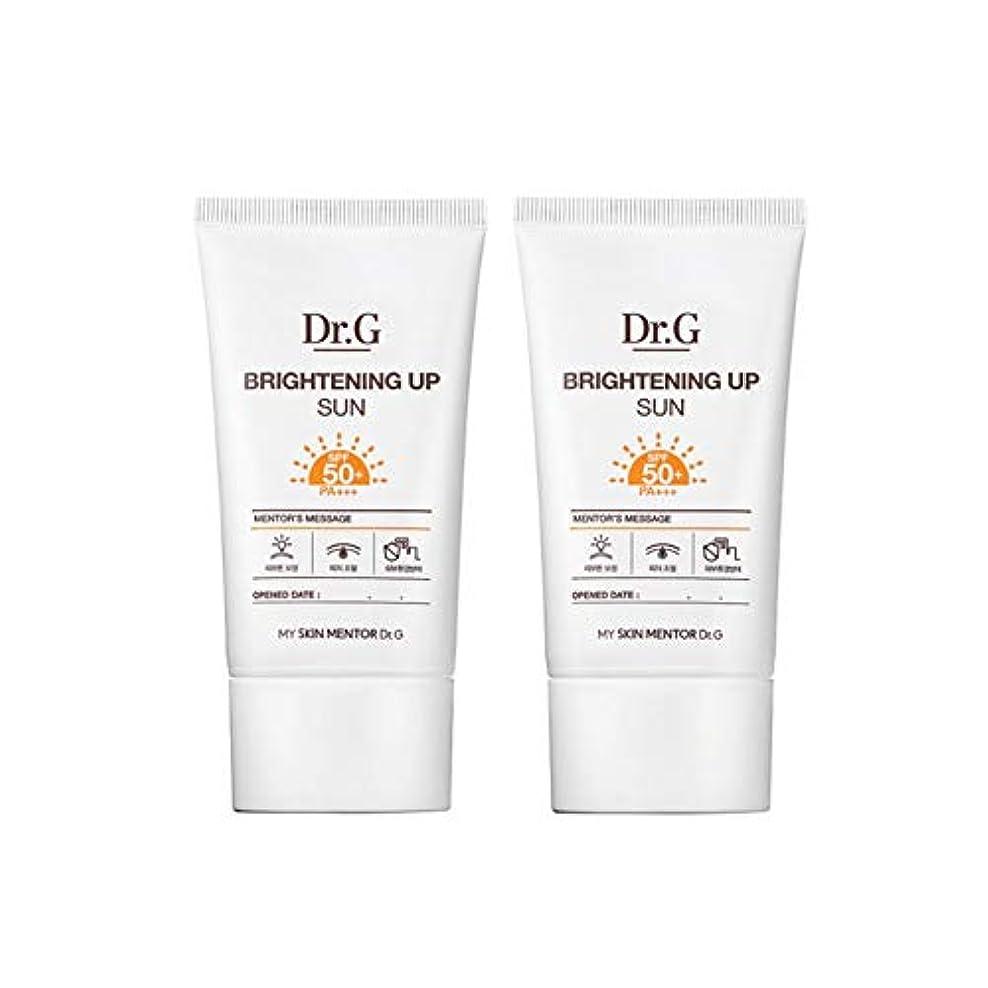 キャンバス前部共産主義者ドクターGブライトニングアップサンSPF50+ PA+++50ml x2本セットサンクリーム、Dr.G Brightening Up Sun SPF50+ PA+++ 50ml x 2ea Set Sun Cream [...