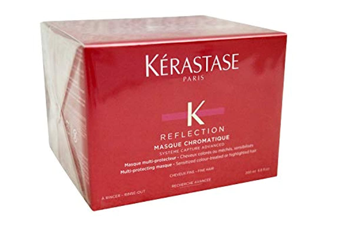 泣くエーカーためにケラスターゼ KERASTASE RF マスク クロマティック ファン 細い髪用 200ml [並行輸入品]