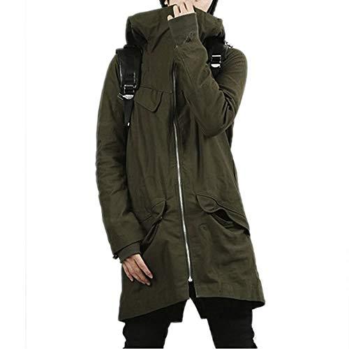 SHEYA モッズコート メンズ コート ロングコート ミリタリー ブラック グリーン カーキ 黒 緑 秋 冬 ロングコート