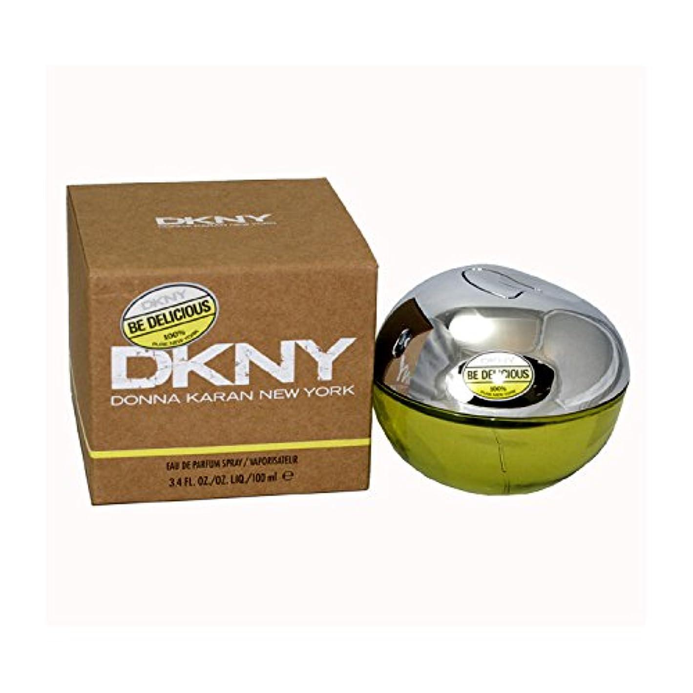 電池放つ趣味ダナキャラン DKNYビーデリシャス オードパルファン スプレー 100ml (女性用)