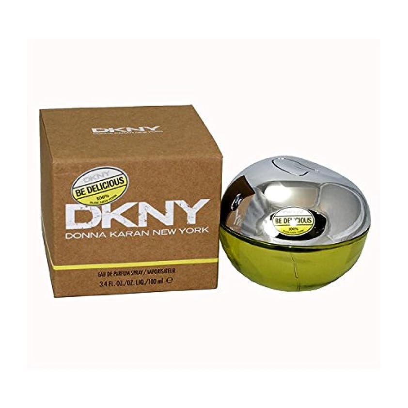 極端な請求書できればダナキャラン DKNYビーデリシャス オードパルファン スプレー 100ml (女性用)
