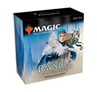 Magic The Gathering: Ravnica Allegiance Prerelease Pack Azorius (Pre-Pelease Promo + 6 Boosters + d20 Spindown Counter) Kit [並行輸入品]