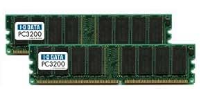 I-O DATA PC3200 (DDR400) DIMM 512MBx2 DR400-512MX2/EC