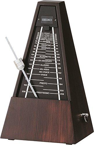 SEIKO セイコー 振り子メトロノーム 森の響 クラシックブラウン WPM1000B