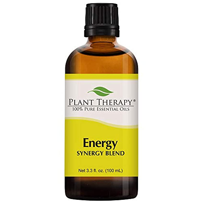 申し立てられたネクタイリレーPlant Therapy Energy (Physical Energy) Synergy Essential Oil Blend. Blend of: Blood Orange, Peppermint, Lemon,...