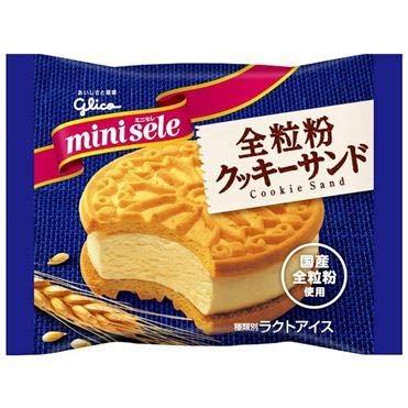 グリコ ミニセレ 全粒粉クッキーサンド60ml×30袋