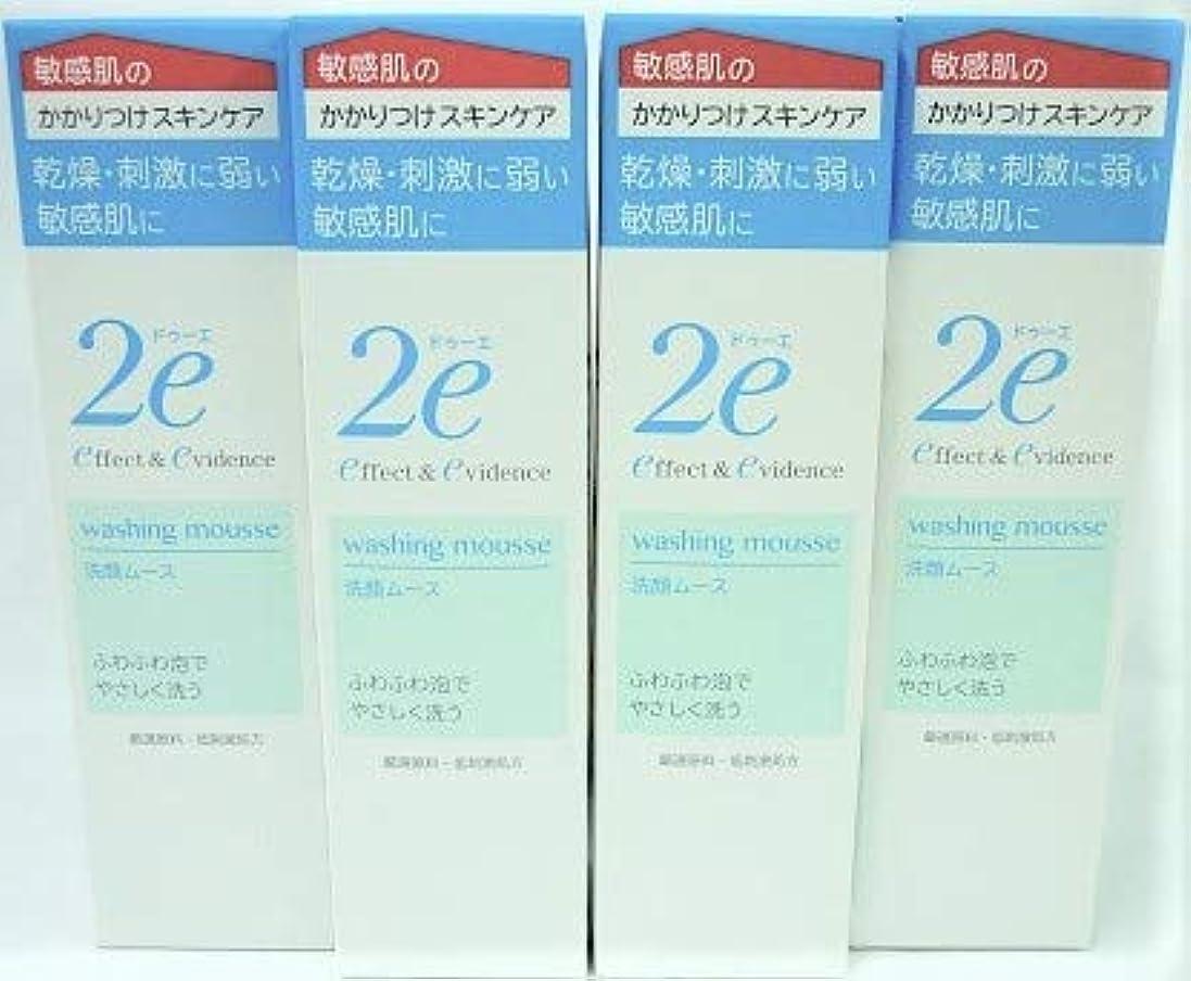 プレゼンター強度コンテンツ[4個セット]ドゥーエ 洗顔ムース 120mL入り×4個