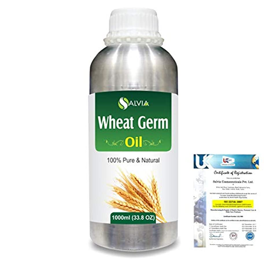 手入れ苦しめるホールドWheat Germ (Triticum aestivum) 100% Natural Pure Essential Oil 1000ml/33.8fl.oz.