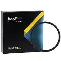 Haoge 46 mm MC CPLマルチコートCircular Polarizer偏光レンズフィルタfor Canon Nikon Sony Minolta Pentax Olympus Panasonic Leica Zeiss TAMRONデジタルカメラDSLRレンズ