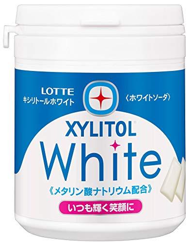 ロッテ キシリトールホワイト(ホワイトソーダ) ファミリーボ...