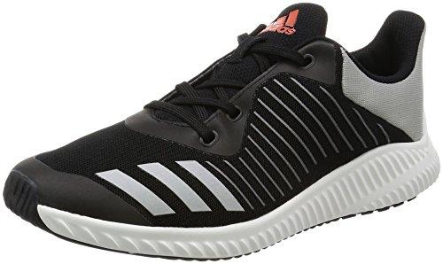 [アディダス]運動靴 KIDS FortaRun K コアブラック/シルバーメット/エナジー S17...