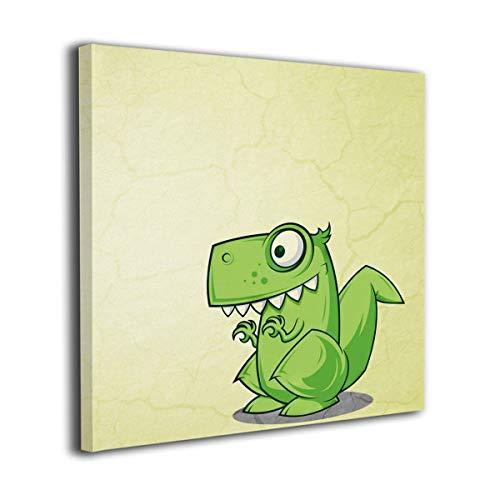 MM RESON 恐竜 漫画 壁掛け絵画 壁の絵 アートフレ...