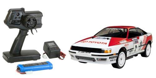 1/10 XBシリーズ No.124 XB トヨタ セリカ GT-FOUR 1990 (TT-01シャーシ TYPE-E) プロポ付き完成品 57824