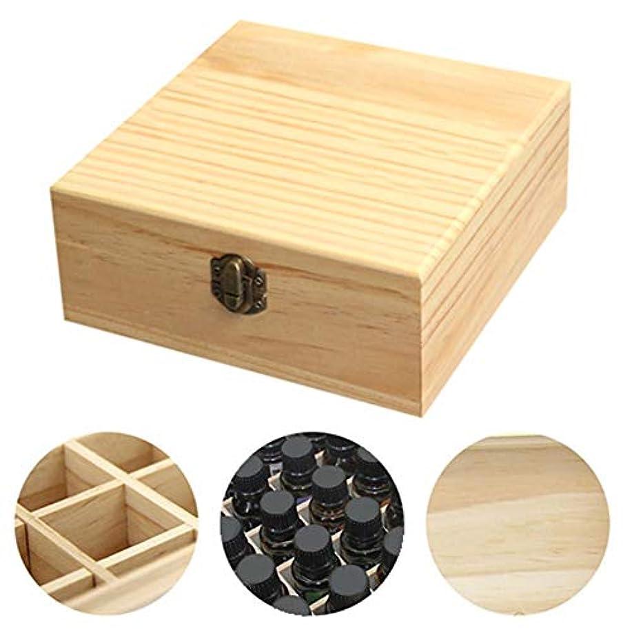 パン屋ブラケット一般的にclouday エッセンシャルオイル収納ボックス 自然木製 エッセンシャルオイルオイル 収納 ボックス 香水収納ケース アロマオイル収納ボックス 25本用 approving
