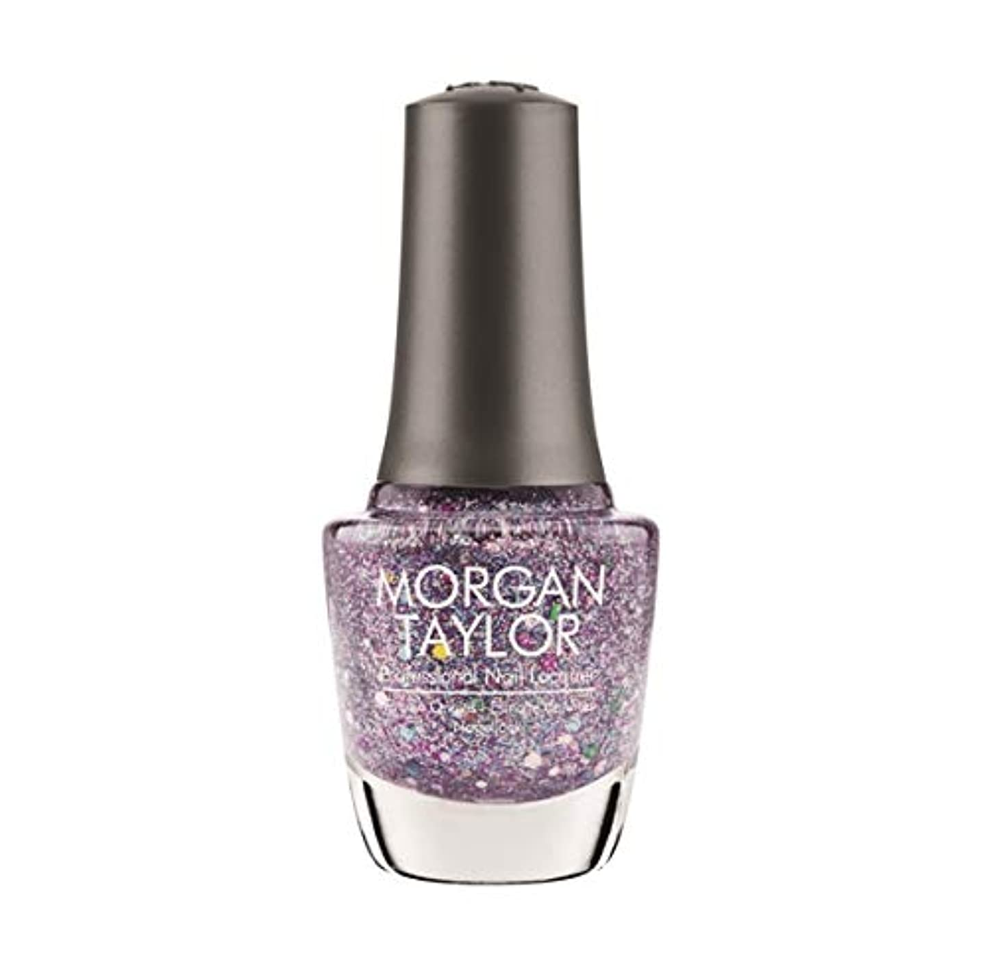 説明的荒涼とした恥Morgan Taylor Nail Lacquer - Rocketman Collection - Bedazzle Me - 15ml / 0.5oz