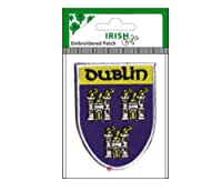 Irish County Crest Embroidered Patch Dublin