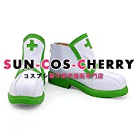 【サイズ選択可】コスプレ靴 ブーツ K-2033 一番くじ ソードアート・オンライン ~メイドワールド~ リーファ Leafa 女性23CM
