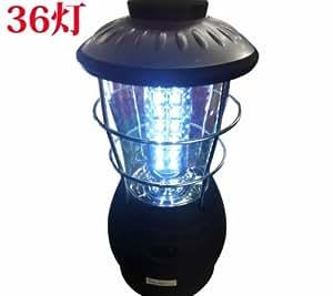 電池式 LED36灯ランタンライト 携帯懐中電灯照明