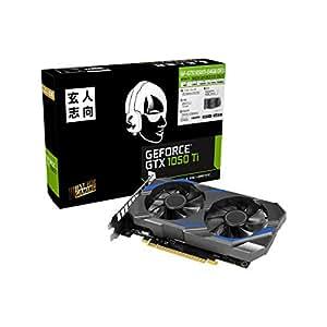 玄人志向 NVIDIA GeForce GTX 1050Ti 搭載 グラフィックボード 4GB デュアルファン GF-GTX1050Ti-E4GB/DF3