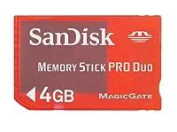 サンディスク Sandisk メモリースティック PRO Duo 4GB ゲーミング レッド スケルトン バルク品