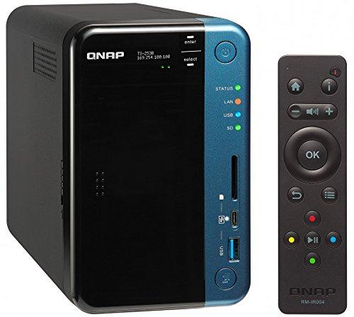 QNAP(キューナップ) TS-253B 専用OS QTS搭載 クアッドコア1.5GHz CPU 4GBメモリ 2ベイ SOHO&SMB向けPCIe拡...