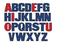 Upper Case Letters Flannelboard Set
