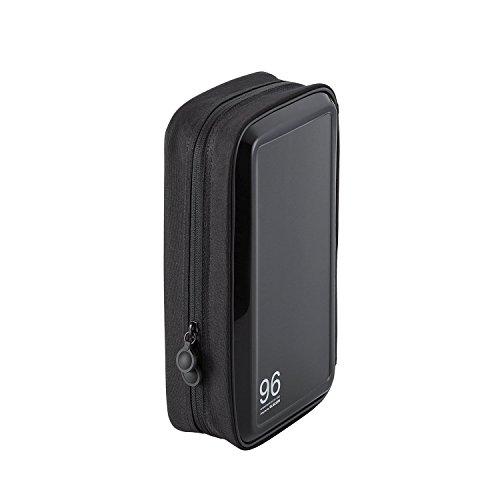RoomClip商品情報 - エレコム DVD CDケース セミハード ファスナー付 96枚収納 ブラック CCD-H96BK