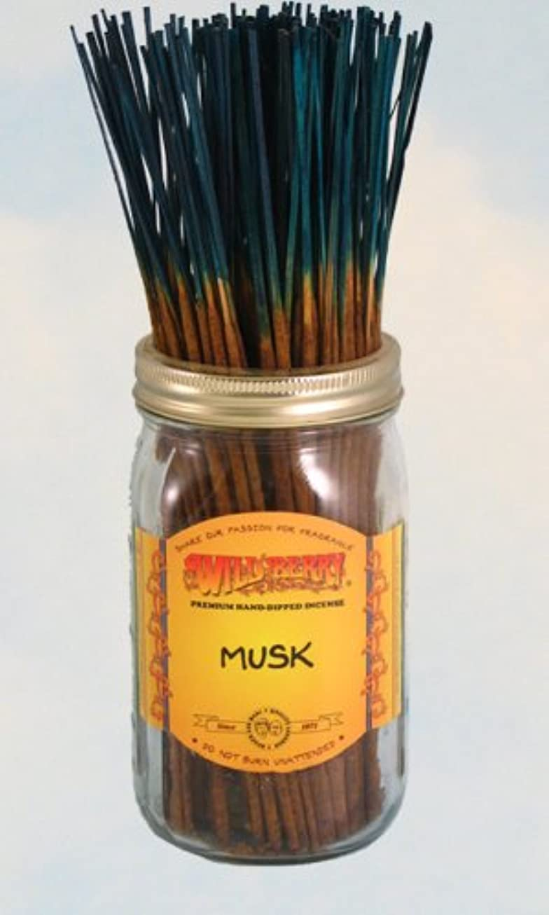 バンド没頭する壊滅的なムスク – 100ワイルドベリーIncense Sticks
