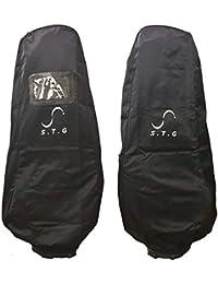 S.T.Golf トラベルカバー キャディバッグ ゴルフバッグ 保護 宅配 カバー 輸送用