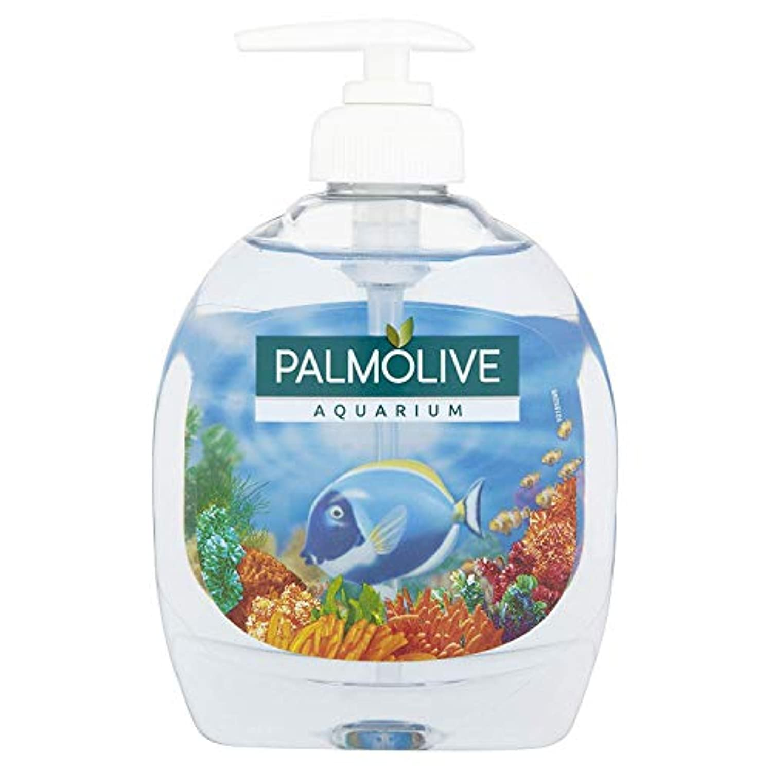 ダブル治世推進力Palmolive Aquarium Fl??ssigseife 300 ml