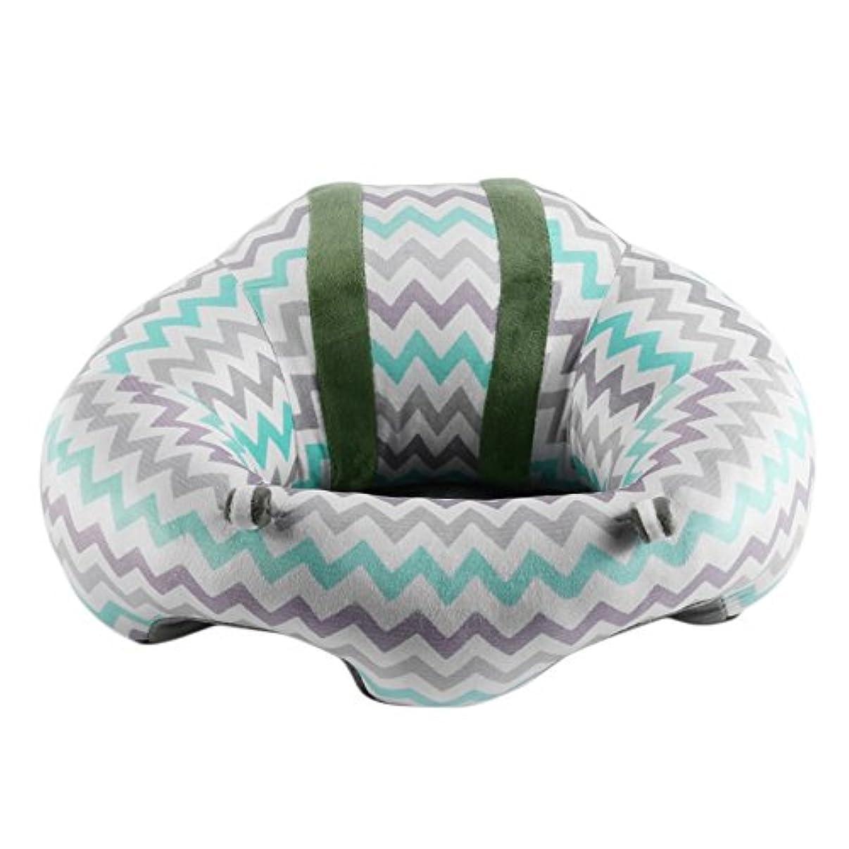 教科書勧告誰ポータブルサイズ快適な新生児幼児ベビーダイニングランチチェアシート安全コットン豪華な足送り椅子 - 混合色