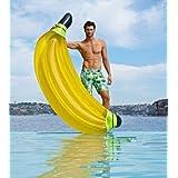 JQStar 海水浴、プール 、水遊び、大人 子供用 高品質、面白い、個性的、創意的浮き輪 (バナナ)