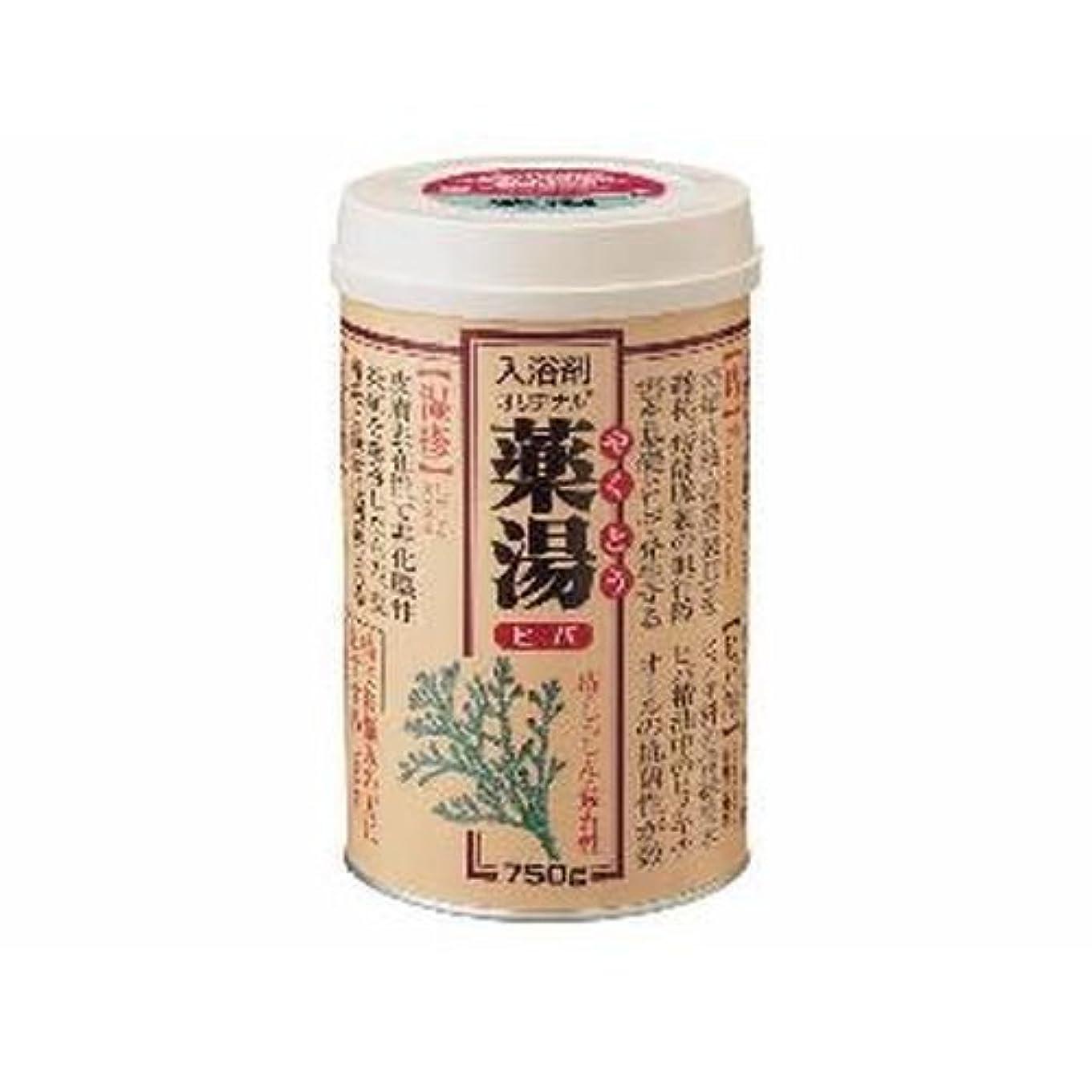 混乱昼寝排他的【まとめ買い】NEWオリヂナル薬湯 ヒバ 750g ×2セット