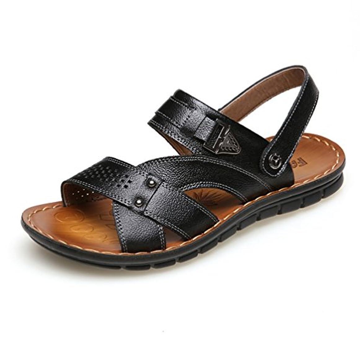 タンザニア劇作家わずかなサンダル メンズ 紳士靴 大きなサイズ 蒸れない オフィス オシャレ かっこいい レザー 滑り止め 歩きやすい 柔らかい ビジネス 通気性 カジュアル 軽量 ウィングチップ 快適 コンフォートパンチング
