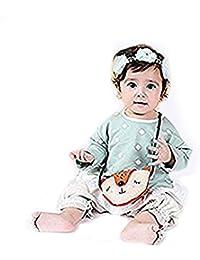 超キュートなフォックス型!レイシークラシック(Lacey Classic) キッズ ショルダーバッグ 女の子 ガールズ 動物風 子供用ミニバック ポシェット 可愛い フォーマル ベビー用鞄 撮影小物 誕生日 クリスマスプレゼント...