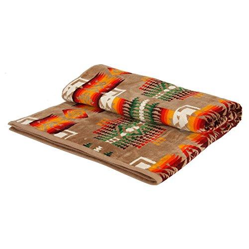 [ ペンドルトン ] Pendleton タオルブランケット オーバーサイズ ジャガード タオル XB233-51114 チーフジョセフ Oversized Jacquard Towels CHIEF JOSEPH 大判 バスタオル タオルケット インテリア [並行輸入品]