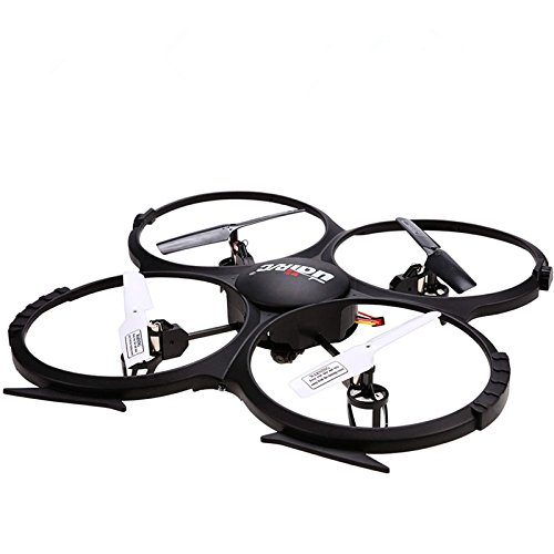 『UDI U818A 2.4GHz 4 CH 6 Axis Gyro RC Quadcopter with Camera RTF Mode 2』のトップ画像