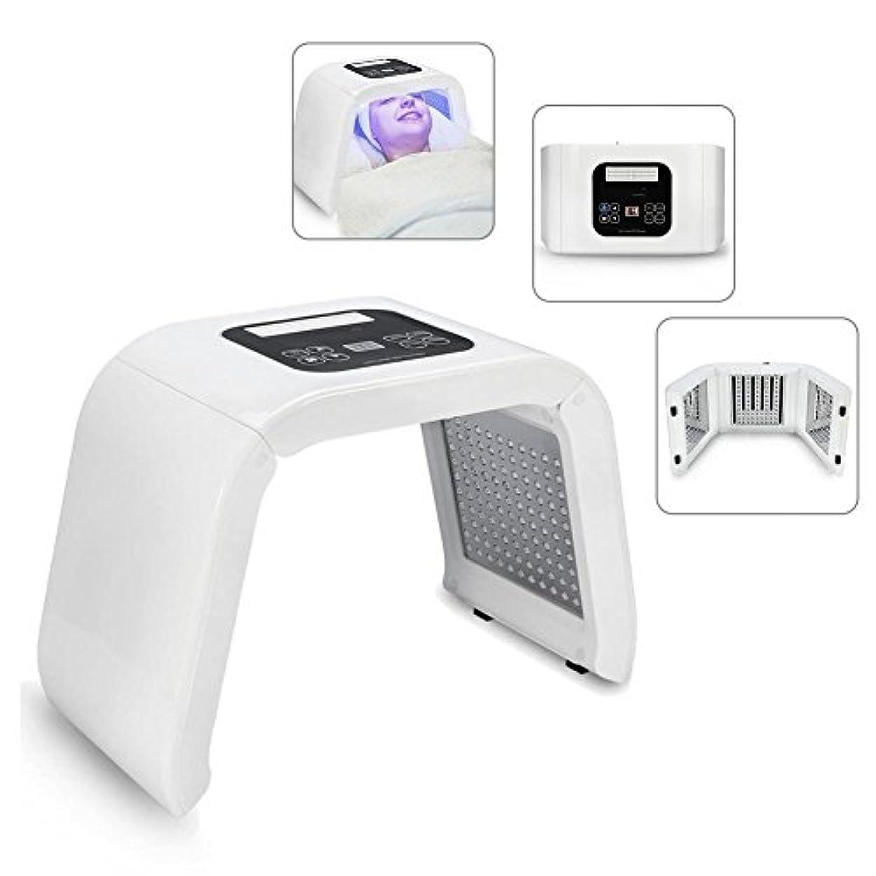 世紀丈夫支出LEDフェイスマスク LEDマシン 顔の肌の若返り 美白 色ライトケア 美ランプ 光子の器械 LEDトナーライト