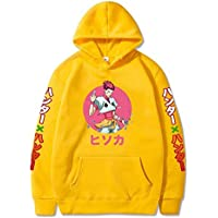 Hunter X Hunter Hisoka Hooded Sweater Solid Color Hoodie Sweatshirts,Yellow,3XL