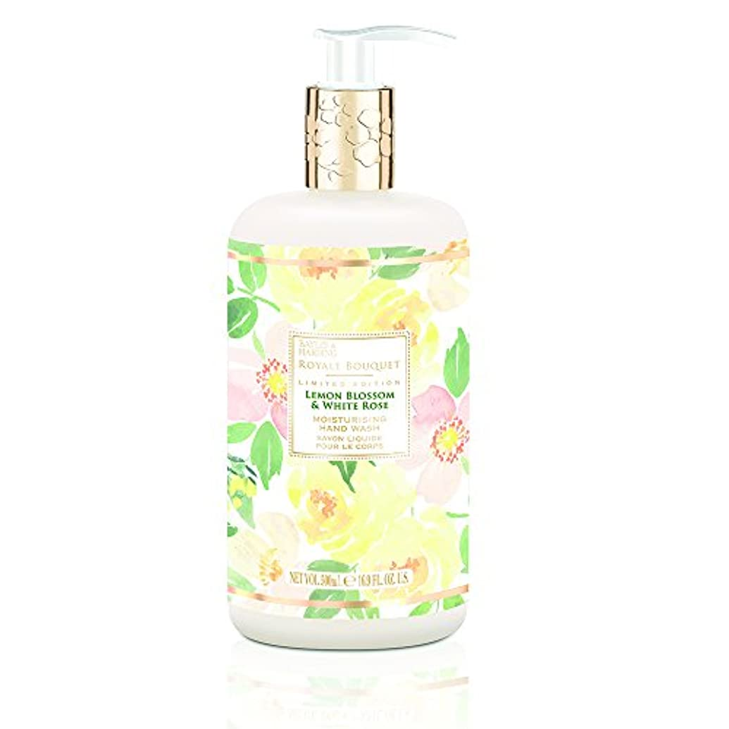 反対に時計異なるBaylis and Harding Royale Bouquet Royale Bouquet Lemon Blossom and White Rose Hand Wash 500ml