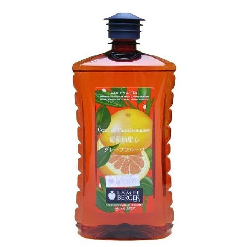 目的メナジェリーミシン目ランプベルジェ アロマオイル[グレープフルーツ]1L