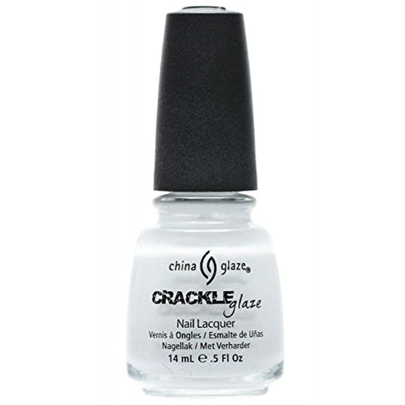 危機大工任命する(6 Pack) CHINA GLAZE Crackle Metals - Lightning Bolt (並行輸入品)