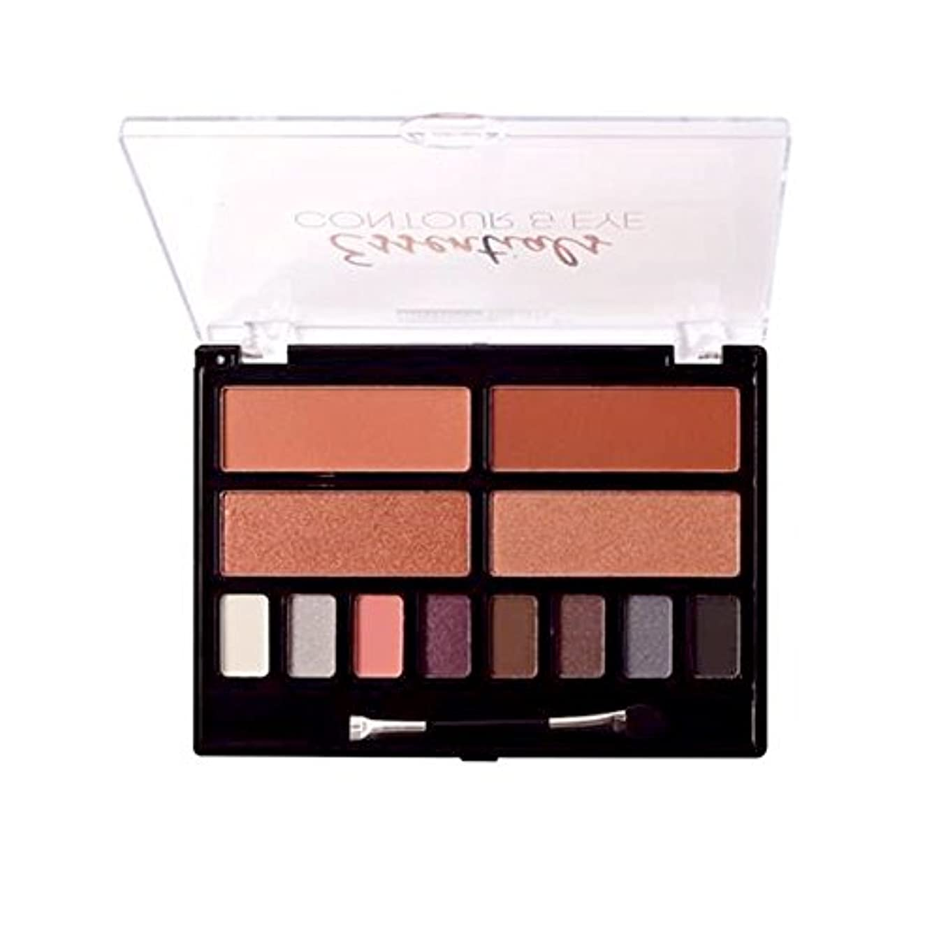 ソート読書ブルーベルBEAUTY TREATS Essentials Contour & Eye Palette - 02 (並行輸入品)