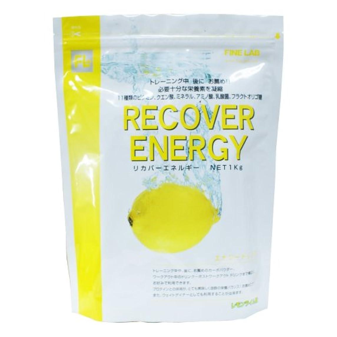 持っているタオル実行可能ファイン?ラボ リカバーエネルギー レモンライム風味 1kg