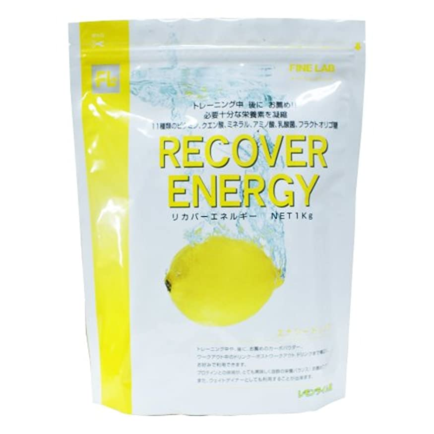 意識について話をするファイン?ラボ リカバーエネルギー レモンライム風味 1kg