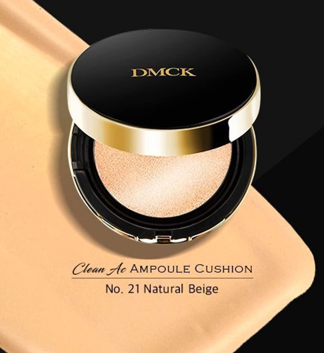 DMCK Clean Acne Ampule Cushion SPF50+/PA+++ (021 Glossy Natural Beige)