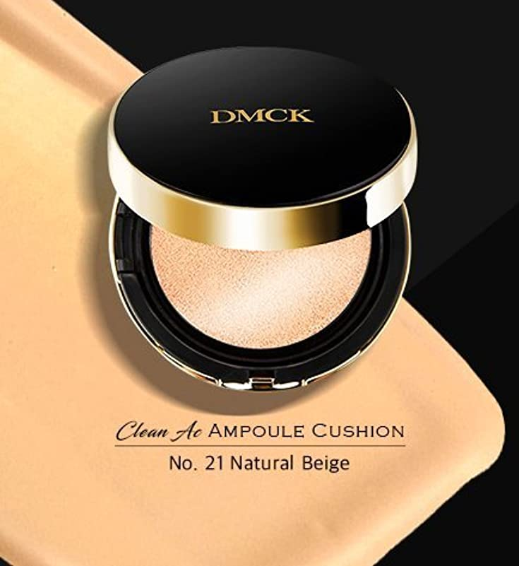 偏心引き潮マナーDMCK Clean Acne Ampule Cushion SPF50+/PA+++ (021 Glossy Natural Beige)