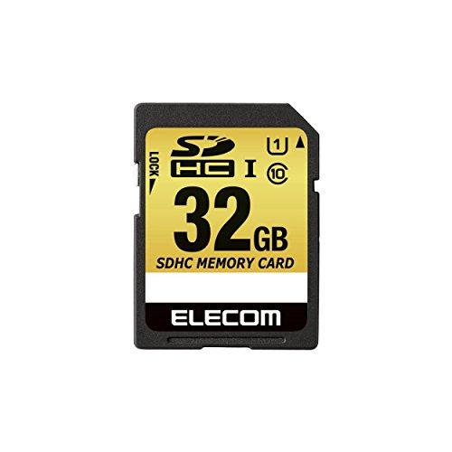 【2014年モデル】エレコム SDカード SDHD MLC採用 UHS-1 耐熱 耐衝撃 防水 32GB Class10 MF-CASD032GU11