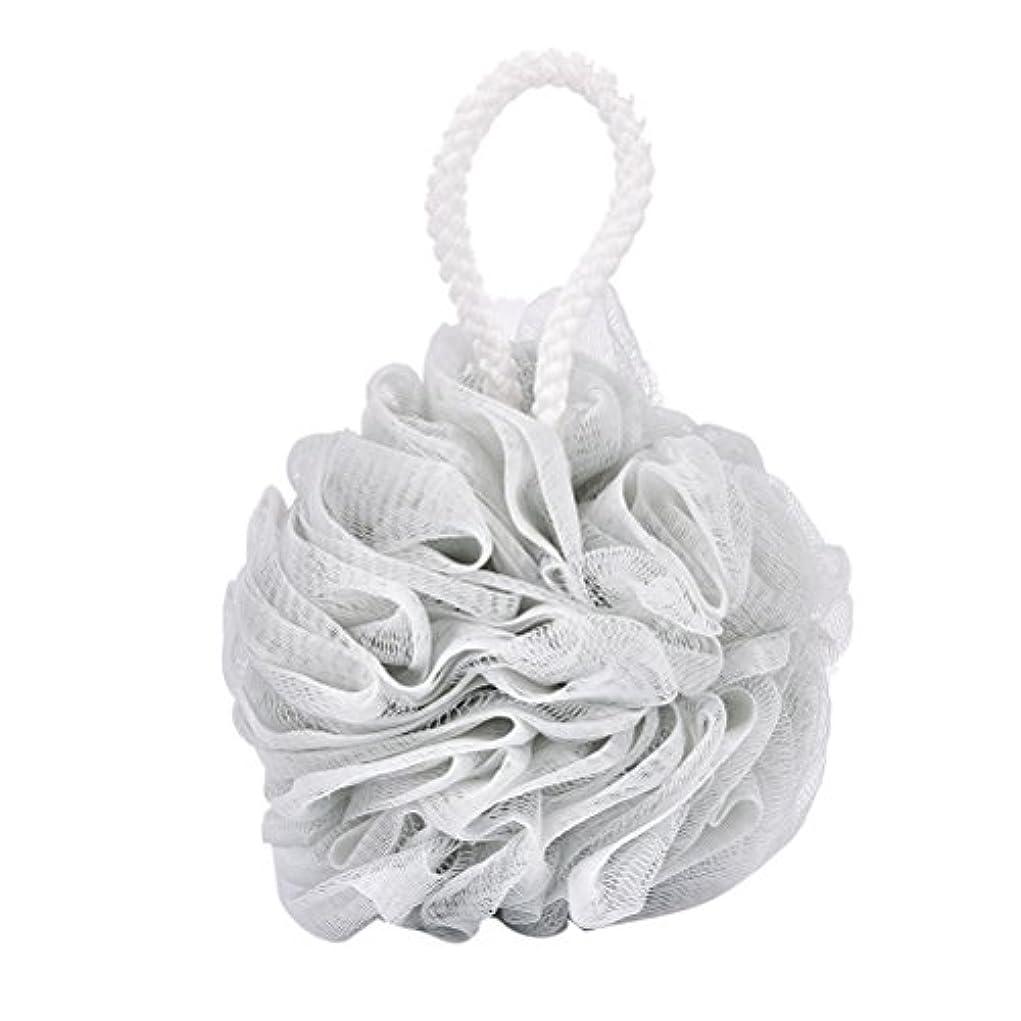 劣る形状五十Tenlacum バスフラワーボールスポンジ 泡を泡立てるメッシュネット 超柔軟 ボディ 風呂ボール