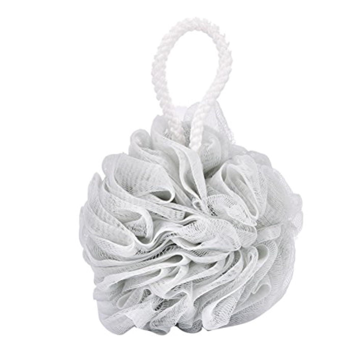 妊娠した管理する抽象化Tenlacum バスフラワーボールスポンジ 泡を泡立てるメッシュネット 超柔軟 ボディ 風呂ボール